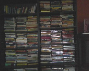 These are just 2 of my book shelves