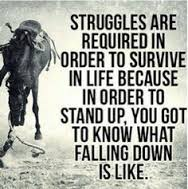 Struggles are required