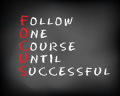 Focus (spelled out)