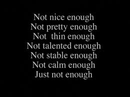 Just not enough