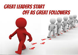 To lead you must first follow 2