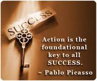 Success is an action word