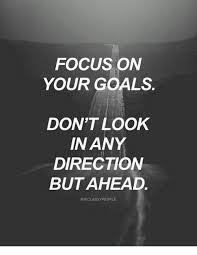 Focus on what is meant for you