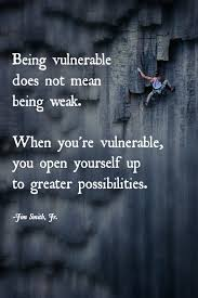 Freedom in being Vulnerable 1