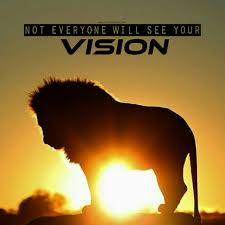 Not everyone sees your vision