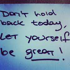 Let Yourself Be Great